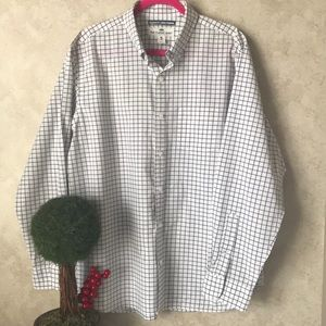 Old navy Men's button down - gingham pattern XL
